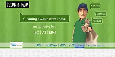 Clean-e-india | Website Development